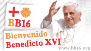 Bienvenido Benedicto XVI - portal poparcia pielgrzymki: