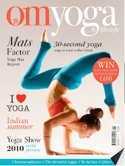 Fall 2010 Cover Of Om Yoga Magazine