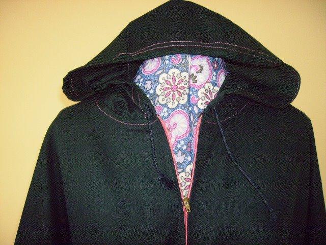 Denim Sports Hood