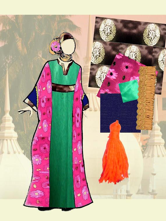 China Abaya Design Board