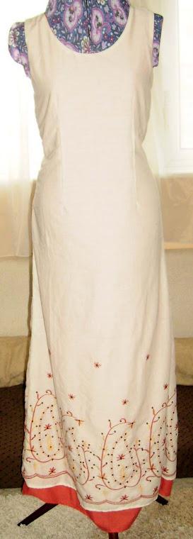 shalwar to maxi dress