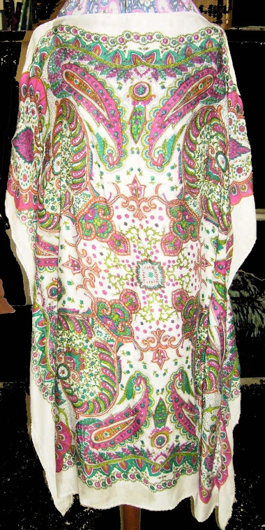 Indian Print Caftan Top