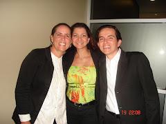 Roberta Vallarino y Jose Navas