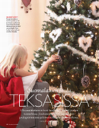 Our previous home in Texas presented in a finnish magazine