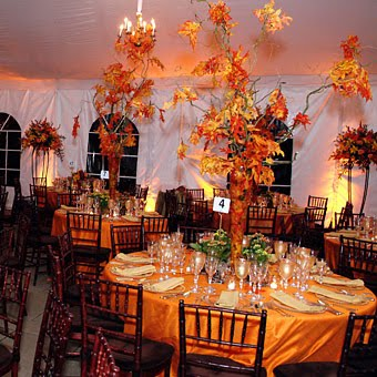 Events by secmele fall wedding themes fall is here and here are some of the lastest trends for 2010 2011 for brides who are having a fall or fall theme wedding junglespirit Gallery