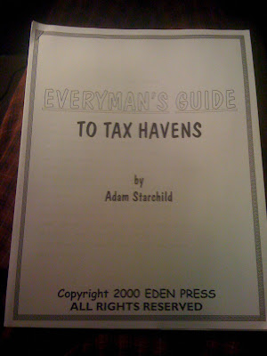 Everyman's Guide to Tax Havens by Starchild, Adam by Starchild, Adam by Starchild, Adam, Starchild, Adam