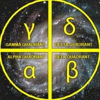 Star Trek Galactic Quadrants
