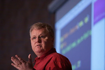 Dave Thomas of the Pragmatic Programmers by Fraser Spiers at SoR 2009