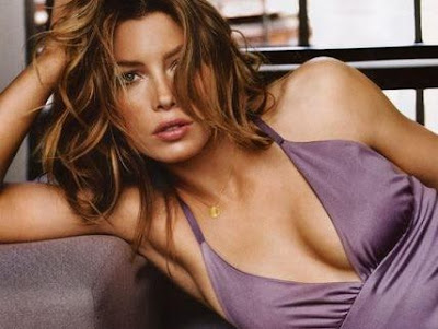 jessica biel hairstyles. Jessica Biel Long Hairstyle