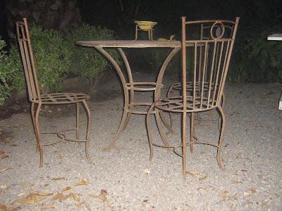 Escultura en fierro muebles y accesorios hierro forjado for Muebles terraza fierro