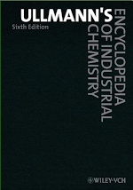 Ullmann's Encyclopedia of Industrial Chemistry, 6th Edition (Print), 40 Volume Set