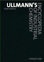 Ullmann's Encyclopedia of Industrial Chemistry, 6th Edition (Print), 40 Volume Set