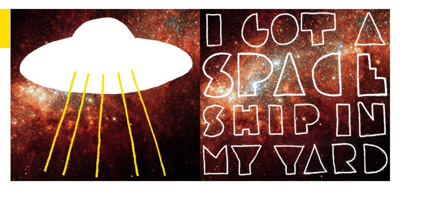 I got a spaceship in my yard