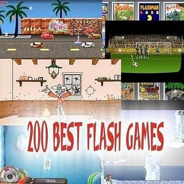 200 best flash games indir