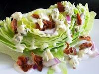 Blue Cheese Iceberg Wedge Salad
