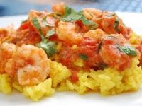 Mexican Shrimp Scampi