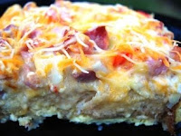 French Toast and Egg Strata