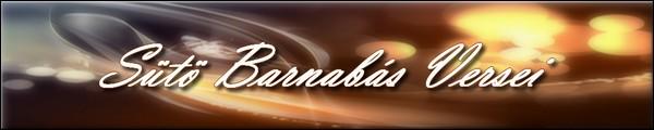 Sütő Barnabás Versei