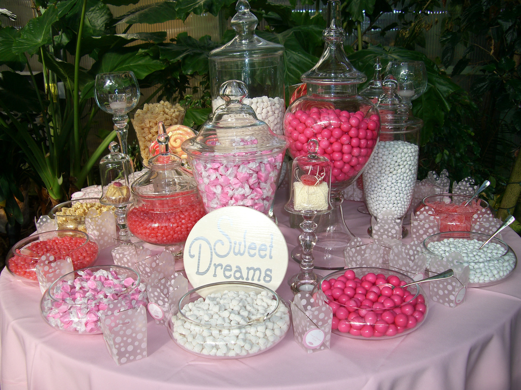 Pink Wedding Reception Decorations