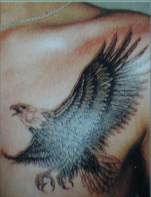 pro tattoo designs: American Flag And Eagle Tattoos - American Eagle Tattoos