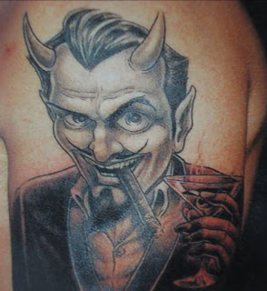 DEVIL TATTOO The Devil, or Satan, comes in a wide variety of forms in tattoo