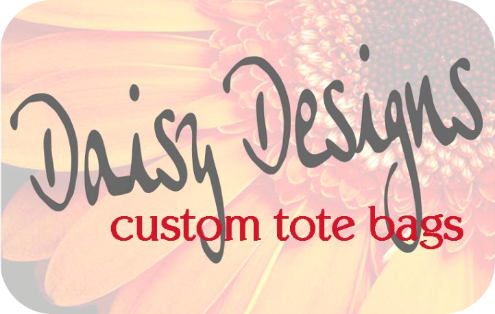 Daisy Designs custom tote bags