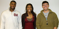 Brandon Ross, Johnishia Donald, Alex Baranov