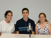 Pictured from left to right Martha Miles, Blake Middleton, and Kelly Howell