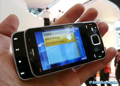 Nokia N96 GPS