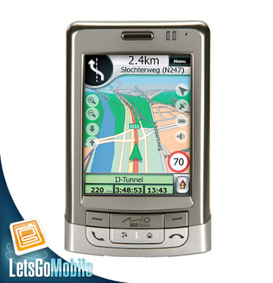 Mio A501 Navigator GPs Cell Phone