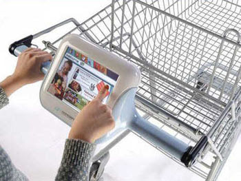 GPS for Shopping basket