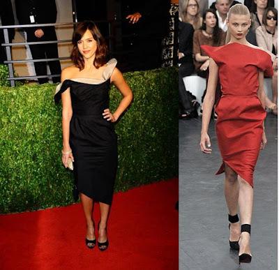 Oscars 2009 – Jessica Alba en la fiesta del Vanity Fair