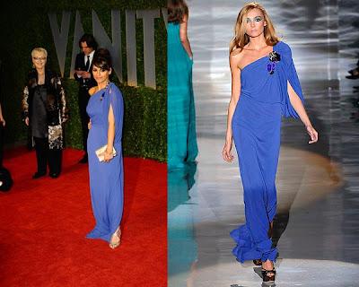 Oscars 2009 – Mónica Cruz en la fiesta del Vanity Fair