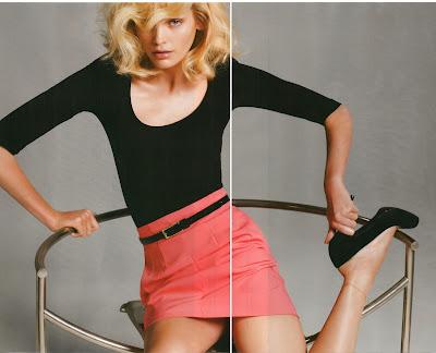 H&M Spring 09 magazine – Heidi Mount