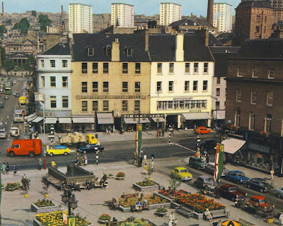 dundee city square and high street 1970