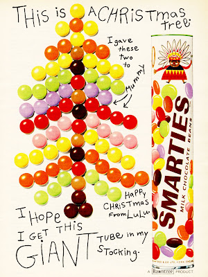 Just like selection boxes, the giant tube of Smarties was something you only