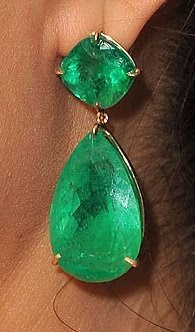 lorraine schwartz emerald earrings
