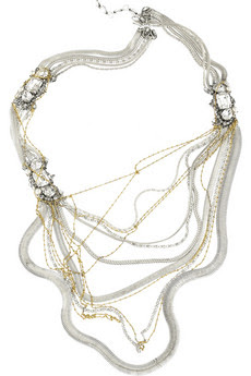 erickson beamon glenda multi strand necklace