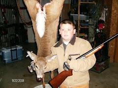 Drew first deer