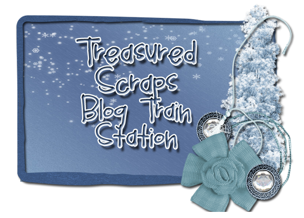 Treasured Scraps Blog Train Station