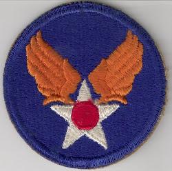 Army Air Force Insignia