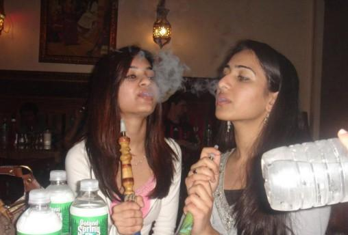 Desi Girls Enjoying Smoke