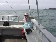Norita navegando en Brail