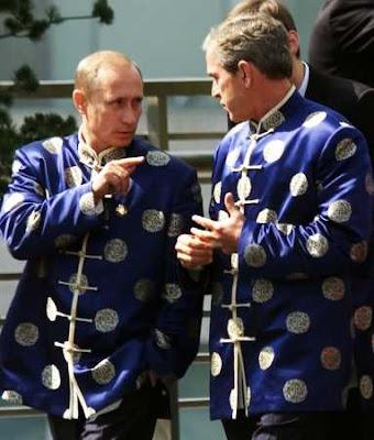 Russia: Bush Speaks Firmly to Putin!