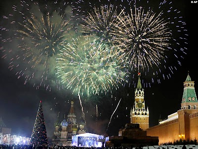 New Year Speech From Russia: by Medvedev!