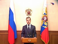 Medvedev Speaks to South Ossetia: August 8th. 2009!
