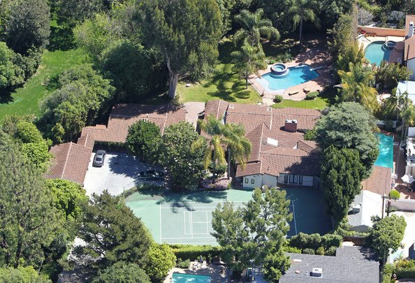 Miley Cyrus House Pictures