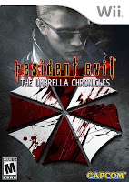 Resident Evil Umbrella Chronicles box