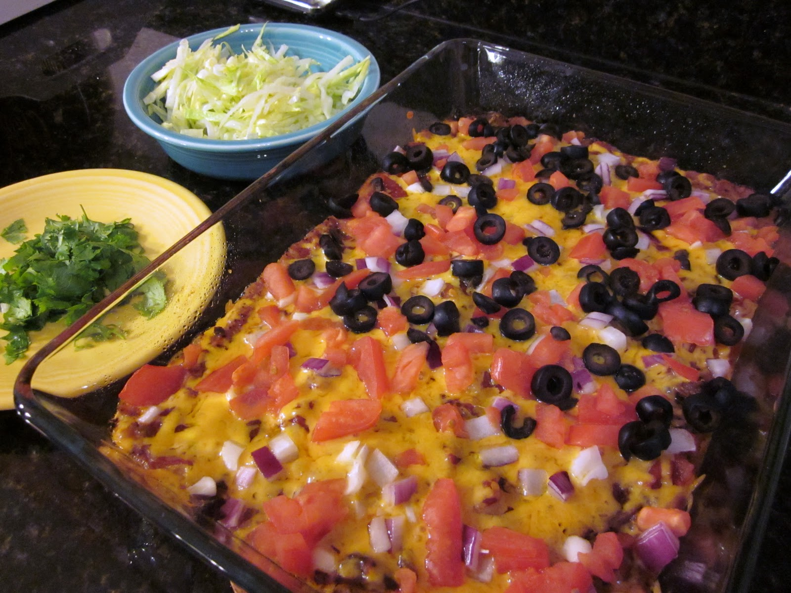 Creatively Domestic: Hot Taco Dip AKA Super Nachos
