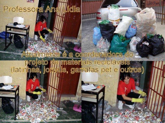Gincana de materiais recicláveis